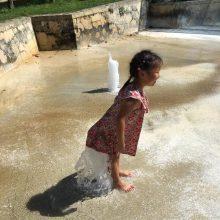 消暑公園系列 – 夏天最好的消暑公園 – 大川児童水公園