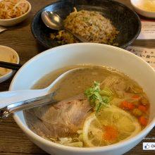 加入沖繩元素的新式豬骨湯拉麵 – Okinawa Tonkotsu Bari